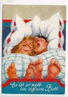 Es Ist So Nett Im Eigenen Bett, Humor Card, Unused Postcard [23868] - Humour