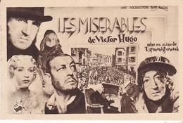 CPA LES MISERABLES DE VICTOR HUGO - Entertainers