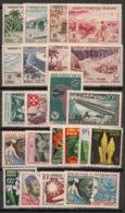 AOF - 1956-59 - N°Yv. 54 à 75 - Complet - 22 Valeurs - Neuf Luxe ** / MNH / Postfrisch - Neufs