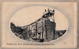 Buckingham Outaouais  Québec - Roasting Kiln - North American Mill - Graphite - By L.E. Chevrier No. 1721 - 2 Scans - Quebec