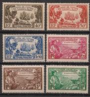 Guyane - 1935 - N°Yv. 137 à 142 - Série Complète - Tricentenaire Des Antilles - Neuf * / MH VF - Nuevos