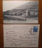 Sommet Du Col Du Mont-cenis Piettier Viaggiata 1950 Anni '50 Francia France - Francia