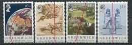Grossbritanien Mi# 993-6 Postfrisch MNH - Maps Meridian - Ungebraucht