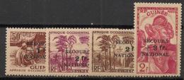 Guinée - 1941 - N°Yv. 172 à 175 - Série Complète - Neuf Luxe ** / MNH / Postfrisch - Französisch-Guinea (1892-1944)