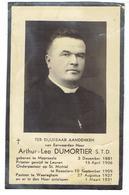 E.H. Arthur Leo DUMORTIER - Moorseele 1881 - Waereghem1931 - Pastoor Waereghem - Onderpastoor St Michiel Roeselare - Devotion Images
