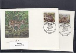 ElSalvador Michel Cat.No. WWF Issue  1734/1737  FDC - El Salvador