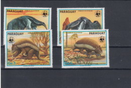 Paraguay Michel Cat.No. WWF Issue  4225/4228 Mnh/** - Paraguay