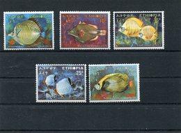 ETHIOPIA 1970 Fishes.MNH. - Ethiopie