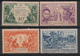 Nouvelle Calédonie - 1931 - N°Yv. 162 à 165 - Série Complète - Exposition Coloniale - Neuf * / MH VF - Unused Stamps
