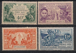 Nouvelle Calédonie - 1931 - N°Yv. 162 à 165 - Série Complète - Exposition Coloniale - Neuf Luxe ** / MNH / Postfrisch - Nueva Caledonia