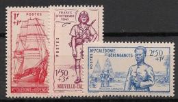 Nouvelle Calédonie - 1941 - N°Yv. 190 à 192 - Défense De L'empire - Neuf Luxe ** / MNH / Postfrisch - Nueva Caledonia