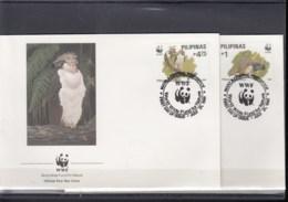 Philippinen Michel Cat.No. WWF Issue 2038/2041  FDC - Filippine