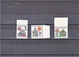 TCHECOSLOVAQUIE 1979 Série Courante Yvert 1831a + 1833a + 1920a NEUF** MNH - Tchécoslovaquie