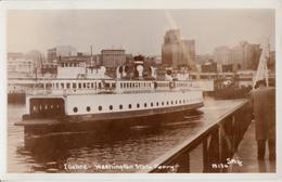 Real Photo Véritable 1955 - B&W - MV Illahee Washington Ferry Boat - Very Good Condition - 2 Scans - Paquebots