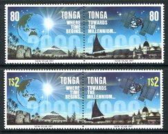 Tonga 1996 Towards The Millennium Set MNH (SG 1366-1369) - Tonga (1970-...)