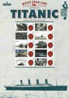 Gran Bretagna, 2012 CS16 100° Ann. Del Titanic, Smiler, Con Custodia, Perfetto - Personalisierte Briefmarken