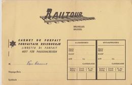 Railtour, Carnet Chemins De Fer Autriche. - Chemins De Fer