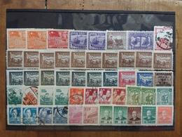 CINA Anni '40/'50 - Lotto 50 Francobolli Misti Nuovi/timbrati × 0.05 Cad. + Spese Postali - Gebruikt