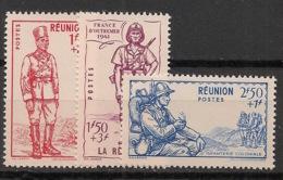 Réunion - 1941 - N°Yv. 175 à 177 - Défense De L'empire - Neuf Luxe ** / MNH / Postfrisch - Isola Di Rèunion (1852-1975)