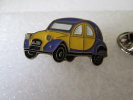PIN'S     CITROEN  2 CHEVAUX - Citroën
