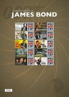 Gran Bretagna, 2012 CS17 50° Ann. Di James Bond, Smiler, Con Custodia, Perfetto - Personalisierte Briefmarken