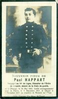 WO1 / WW1 - Doodsprentje Happart Paul - Otrange / - Gesneuvelde - Décès