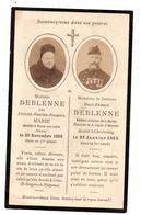 Souvenir Décès Neuvy Sur Loire /Cherbourg Médecin De La Marine Deblenne - Collections