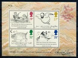 Grossbritanien Mi# Block 4 Postfrisch MNH - Cartoon - 1952-.... (Elizabeth II)