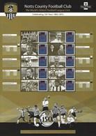 Gran Bretagna, 2012 CS19 150° Ann. Della Squadra Di Calcio Notts County, Smiler, Con Custodia, Perfetto - Personalisierte Briefmarken