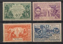Wallis Et Futuna - 1931 - N°Yv. 66 à 69 - Exposition Coloniale - Série Complète - Neuf * / MH VF - Wallis Y Futuna