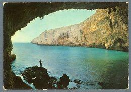 °°° Cartolina - Castro Marina Grotta Zinzulusa Viaggiata °°° - Lecce