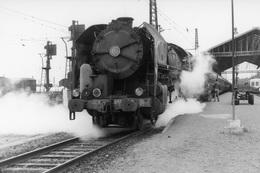 Narbonne. Locomotive 141 R 1159. Cliché Jacques Bazin. 09-05-1968 - Trains