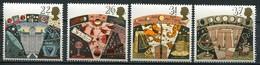 Grossbritanien Mi# 1296-9 Postfrisch MNH - Space - 1952-.... (Elizabeth II)