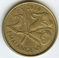 Swaziland 2 Emalangeni 2010 KM 46 - Swaziland