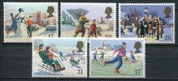 Grossbritanien Mi# 1300-4 Postfrisch MNH - Christmas - Ongebruikt