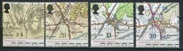 Grossbritanien Mi# 1363-6 Postfrisch MNH - Maps - 1952-.... (Elizabeth II)