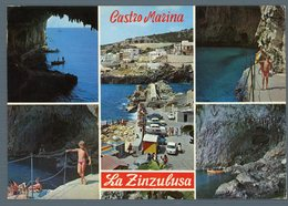 °°° Cartolina - Castro Marina Veduteviaggiata °°° - Lecce