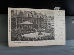 Souvenir De Mons  Le Doudou Obl En 1900 - Mons