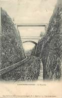 Dpts Div.-ref-AR280- Dordogne - Larochebeaucourt - La Tranchée -rails  Ligne De Chemin De Fer - Carte Bon Etat - - France