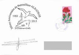 TAAF - Patrouilleur Austral ALBATROS - 30 Ans De Missions - Scheepspost