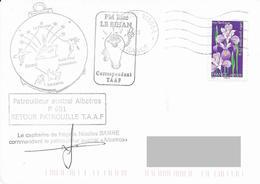 TAAF - Patrouilleur Austral ALBATROS - Contrôle Des Pêches 2013 - Scheepspost