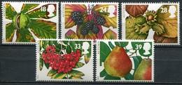 Grossbritanien Mi# 1463-7 Postfrisch MNH - Flora Fruits - 1952-.... (Elizabeth II)