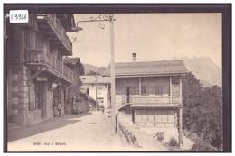 DISTRICT D'AIGLE - GRYON - UNE RUE - TB - VD Vaud