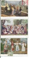 3 Old Postcards GREECE 1916 - Griechenland
