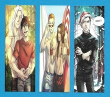 3 Marque Page.   Art By Neiked.   Bookmark. - Marque-Pages