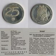 Israel 25lirot,5734 (1977) Indepence - Israël