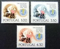 Portugal 1038/1040 ** MNH. 1968 - Nuevos