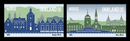 Norway 2020 Mih. 2015/16 Bergen And Moss Cities MNH ** - Unused Stamps