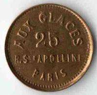 Aux Glaces Monnaie De Singe - PARIS - Brothel Tokens
