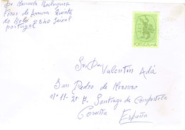USED COVER PORTUGAL 1991 - 1910-... República